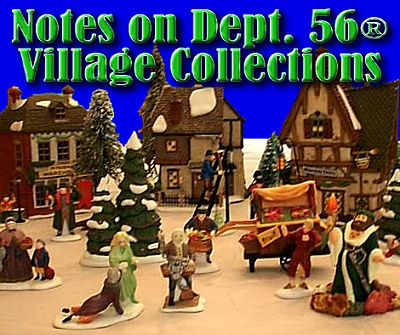 notes on dept 56 village collections this photo shows part of the dickens