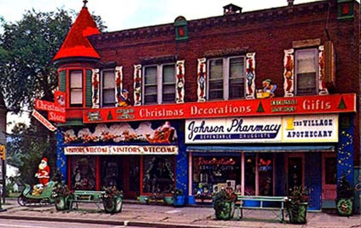 johnson pharmacy which became americas first christmas store began selling handmade christmas - The Christmas Shop