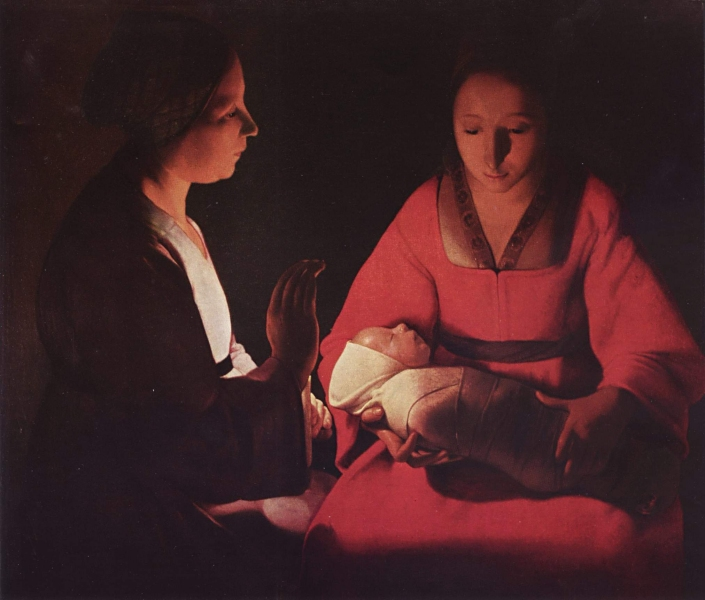 this is a painting by french artist georges de la tour c 1648