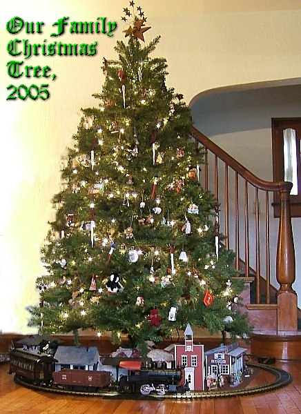 what do trains have to do with christmas family christmas onlinetm - How To Decorate A Big Christmas Tree
