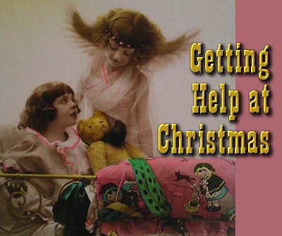 Click to see our article on where to get help at Christmas.