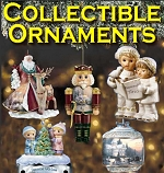 Click to see limited-edition collectible Christmas ornaments from Thomas Kinkade and others.