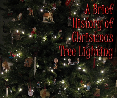 a brief history of christmas tree lighting this is the race family tree in 2008